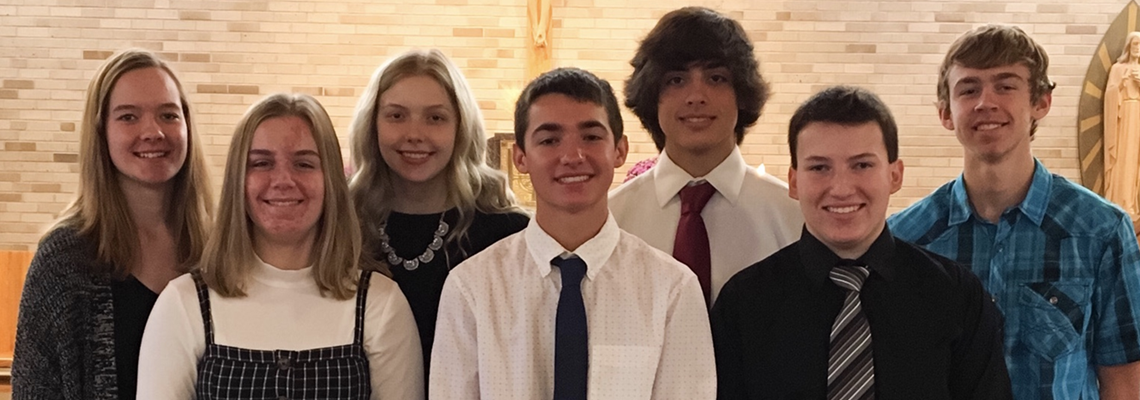 St. John's Confirmation Candidates