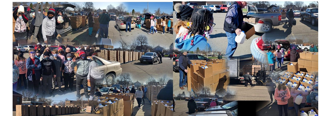 April Food Distribution Madison